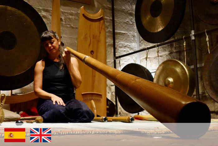 Agustina Mosca. Profesor de didgeridoo