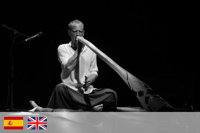 Emiliano Tenzi. Profesor de didgeridoo
