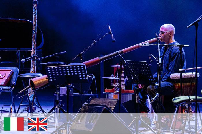 Fabio Gagliardi. Profesor didgeridoo