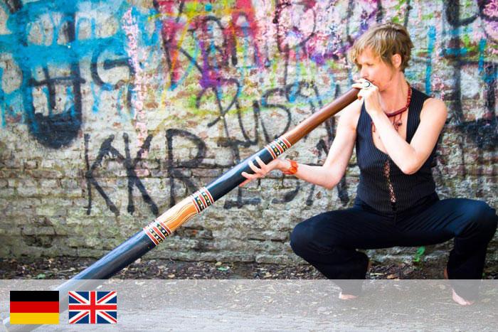 Mama didge - profesora de didgeridoo