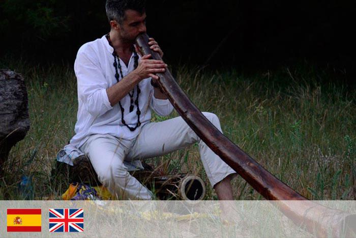 mauricio - Profesor de didgeridoo