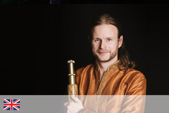 Michael Irger. Profesor de didgeridoo
